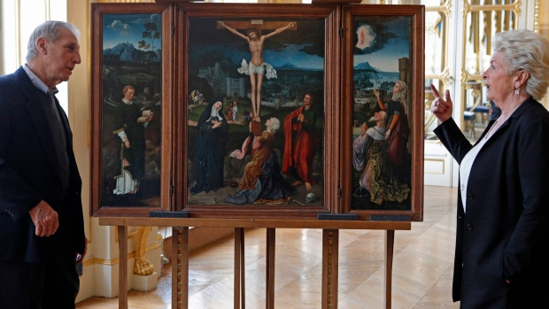 Triptych of the Crucifixion