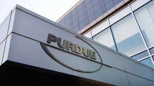 This May 8, 2007 file photo shows the Purdue Pharma offices in Stamford, Conn. (AP Photo/Douglas Healey, File)
