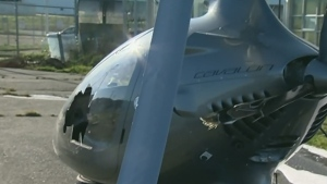 'Autogyro' aircraft crash lands at B.C. airport