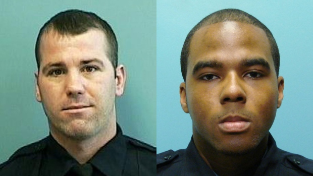 Baltimore detectives Marcus Tayloy & Daniel Hersl