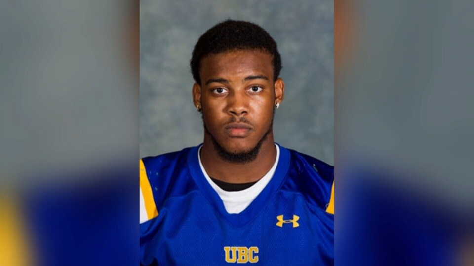 Moore-Williams moved from Toronto to Vancouver to play football for UBC.