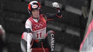 Canadian luger Alex Gough