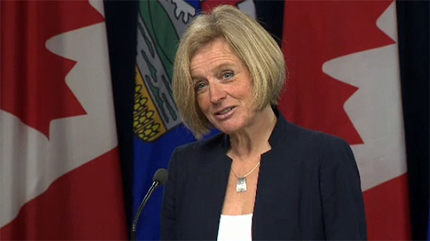 Notley said she will give the feds a few more days to resolve the dispute and says she hasn't ruled out more extreme measures.