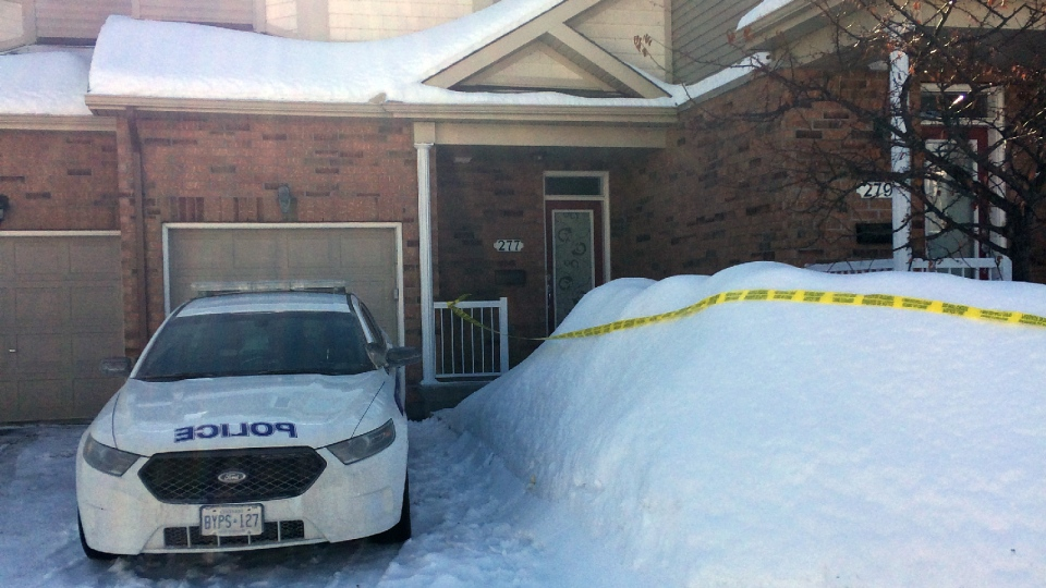 This Parkrose Private residence in Ottawa is being treated as a crime scene after 81-year-old Maria Desousa was brought to the hospital already deceased. (CTV Ottawa)