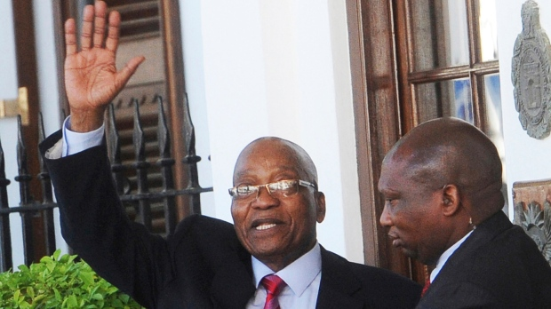South Africa's Zuma resigns, forced out by own party
