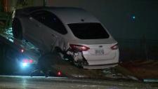 Vehicle towed