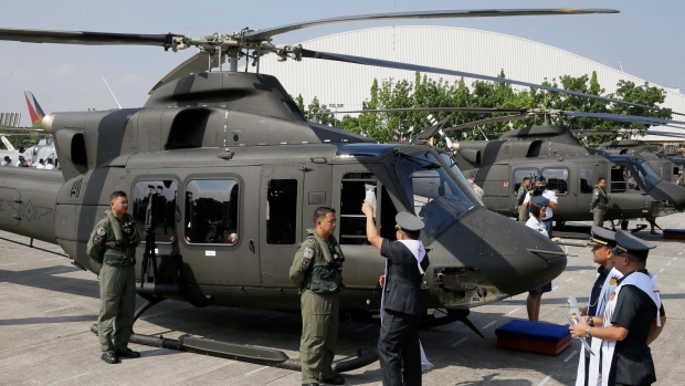 Bell-412EP helicopters