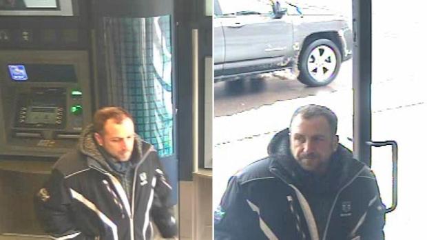 ATM thief suspect