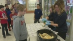 Seen here Pancake Tuesday at a school in Barrie, Ont on Feb 13, 2018