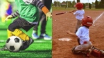 Kids sports - baseball - soccer