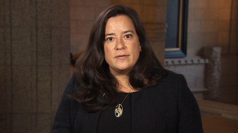 Justice Minister Jody Wilson-Raybould speaks to CTV's Power Play on Tuesday, Feb. 13, 2018.