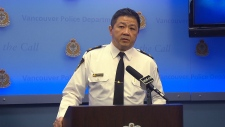 Vancouver Police Deputy Chief Howard Chow