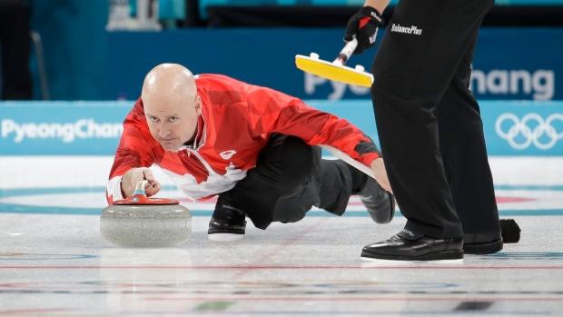 Canada's skip Kevin Koe