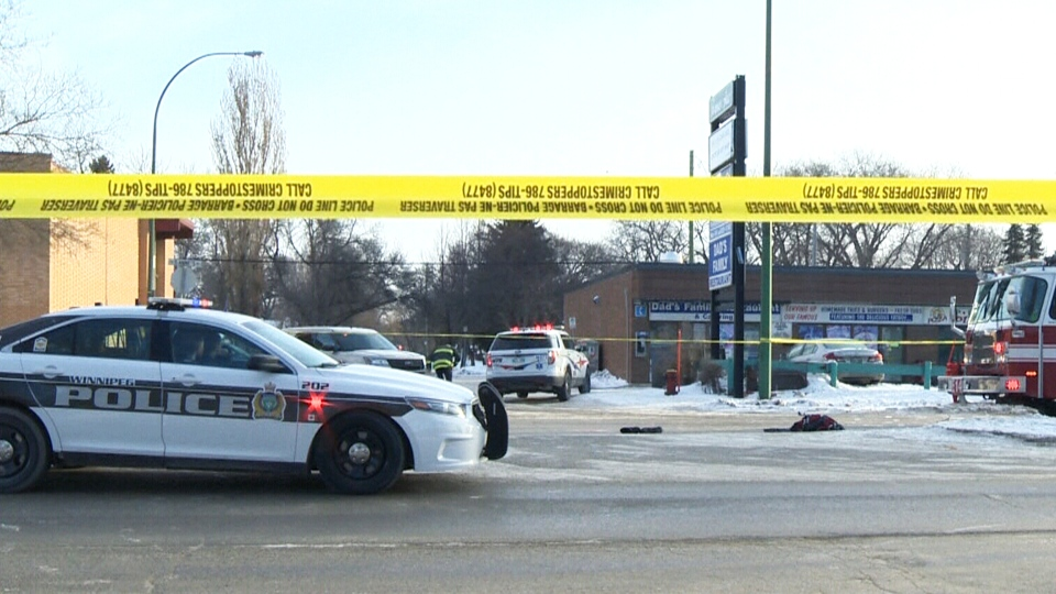 The boy was fatally struck in front of his school minutes after the crossing guard ended her shift. (Ryan Harding / CTV News)