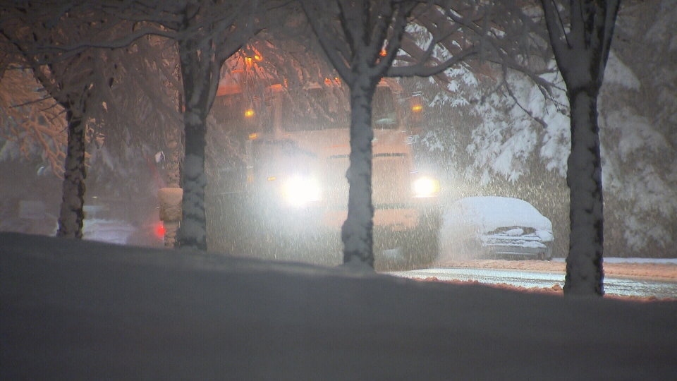 Surrey, Langley and the Fraser Valley saw several centimetres of snow accumulate overnight.