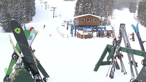 The young girl that died at Castle Ski Resort was part of a school group that was visiting on Tuesday. (File)