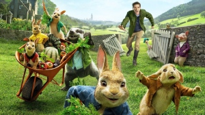 Peter Rabbit movie promotional image