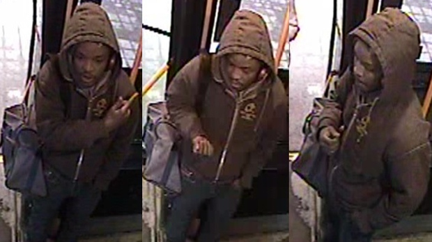 Bus driver punched in face, police release suspect photo