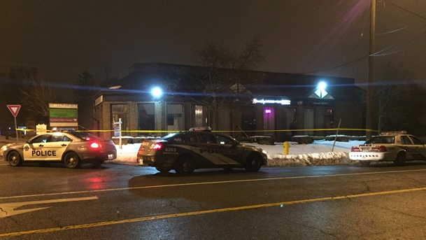 Police say a man suffered critical injuries after an assault near Old Kingston Road and Military Trail. (Mike Nguyen/ CP24)