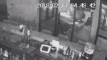 Police are warning businesses to make sure bank machines are bolted to the floor after another robbery at a Hamilton restaurant.