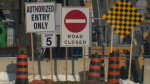 The Victoria Street bridge demolition will close the Expressway for about 33 hours at the end of February.