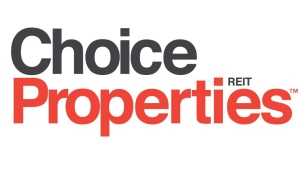 The corporate logo for Choice Properties REIT is shown. THE CANADIAN PRESS/HO