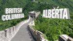 Alberta / BC imaginary wall