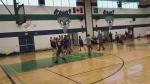 Buzzer beater shot for a Simcoe County basketball