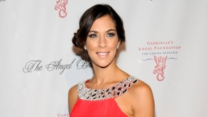In this Oct. 17, 2011 file photo, reality TV personality Jenna Morasca attends the Gabrielle's Angel Foundation for Cancer Research Angel Ball honors gala in New York. (AP Photo/Evan Agostini, File)