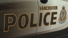 A decal on a Vancouver police cruiser is seen in this undated photo.