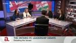 First Ontario PC leadership hopeful debate