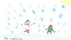 Amelia Dupuis, 7 years old, Grade 2, Lombardy Public School