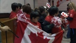 First Nation rallies for Olympic athlete