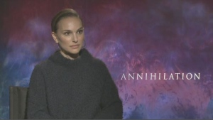 Natalie Portman stars in the science fiction drama Annihilation.