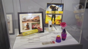 Items from Justin Bieber's childhood and career are on display at the Stratford Perth Museum.