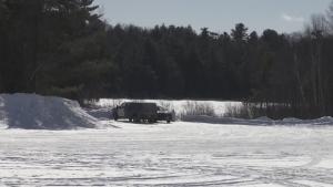 Body found behind swampy public works pump house
