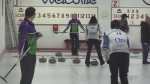 Mixed doubles curling on display in Listowel