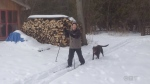 Picture This: Cross-country skiing montage