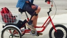 Winnipeg man's trike stolen