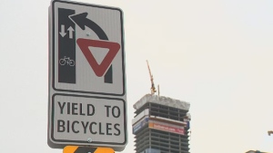 Downtown bike lanes