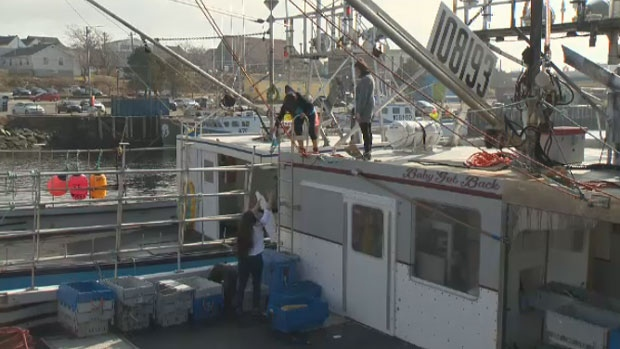 Jana Jeffery and her cleaning dream team say they're up for the challenge of cleaning lobster boats this season.