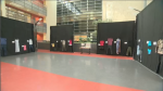 "Along with self-defense workshops, students explored an on-campus exhibition called ""What were you Wearing?"" – part of an effort to dispel myths about sexual assault and confront stereotypes that suggest victims can make themselves targets by dressing a certain way. (CTV Montreal)"