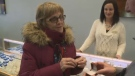 Paulette Corbett was given a replacement wedding ring in Sydney River, N.S., Saturday, Feb. 17, 2018.