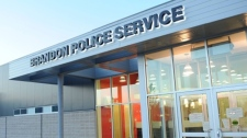 Two suspects are in Brandon police custody after allegedly trying to skip out on paying their cab fare.