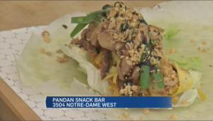 Pandan snack bar