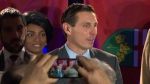 Patrick Brown at a campaign event in Mississauga, Ont. (CTVNews)