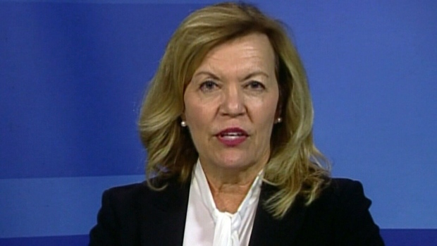 Ontario PC leadership candidate Christine Elliott on CTV's Question Period. (CTVNews)