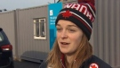 Canadian short-track speed skater Kim Boutin. (CTVNews)