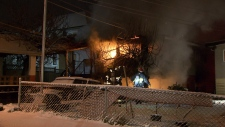 An elderly man died in an East Vancouver basement fire on Feb. 18, 2018.