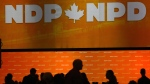 NDP delegates gather on the party convention floor in Ottawa, Friday, February 16, 2018.THE CANADIAN PRESS/Fred Chartrand